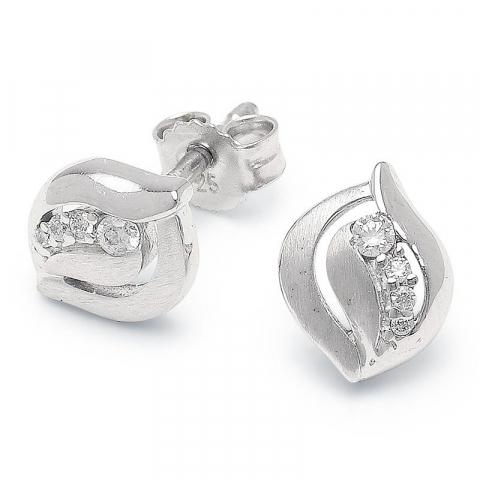 Mooie oorbellen in zilver