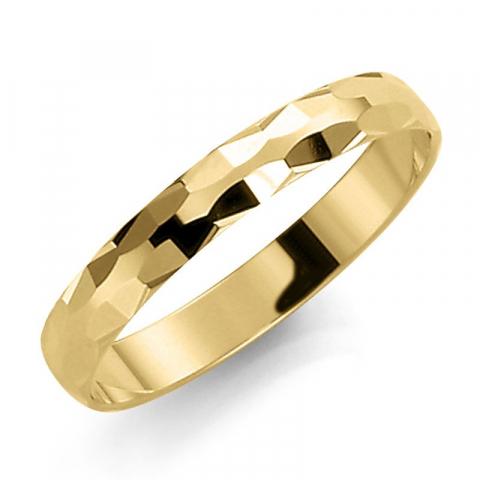 Smal 3 mm trouwring in 14 karaat goud