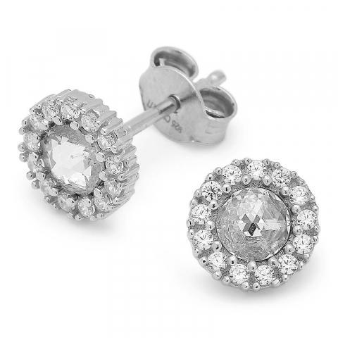 testsieraad oorsteker in zilver