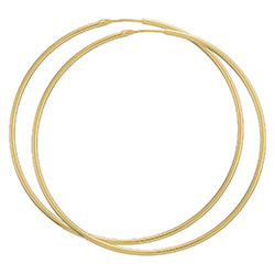57 mm BNH creooloorbellen in 8 karaat goud
