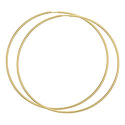 75 mm BNH creooloorbellen in 8 karaat goud
