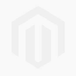 Vierkant saffier diamant ring in 14 karaat witgoud 0,38 ct 0,31 ct